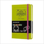 Moleskine Ltd. Edition Notebook, Super Mario, Game Boy / Green, Pocket, Ruled Hard Cover (3.5 X 5.5) (Other)