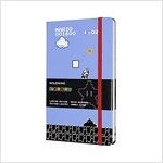 Moleskine Ltd Edition Notebook, Super Mario, Full Game / Blue, Large, Ruled Hard Cover (5 X 8.25) (Other)