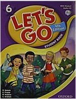 Let's Go: 6: Student Book with Audio CD Pack (Package, 4 Revised edition)