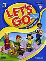 Let's Go: 3: Student Book with Audio CD Pack (Package, 4 Revised edition)