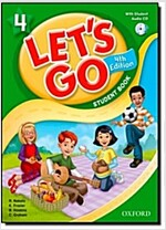 Let's Go: 4: Student Book with Audio CD Pack (Package, 4 Revised edition)