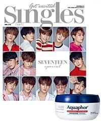 싱글즈 Singles 2018.4 (표지 : 세븐틴)