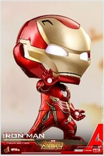 [Hot Toys] 코스베이비 아이언맨(라이트업 기능) COSB430 - Iron Man Cosbaby (S) Bobble-Head (With light-up function)