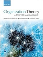 Organization Theory : A Practice Based Approach (Paperback)
