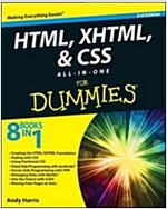HTML5 and CSS3 All-In-One for Dummies (Paperback, 3)