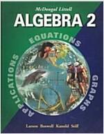McDougal Littell Algebra 2: Student Edition (C) 2004 2004 (Hardcover)