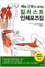 [중고] 뼈와 근육이 보이는 일러스트 인체포즈집