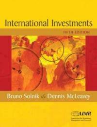 International investments solnik