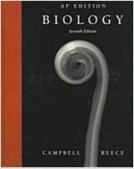 [중고] Biology (Hardcover, CD-ROM, 7th)