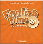 English Time: 5: Class Audio CDs (x2) (CD-Audio, 2 Revised edition)