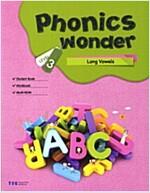 Phonics Wonder 3 : Long Vowels (Paperback + CD 2장)