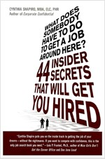 What Does Somebody Have to Do to Get a Job Around Here?: 44 Insider Secrets That Will Get You Hired (Paperback)