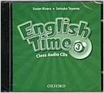 English Time: 3: Class Audio CDs (CD-Audio, 2 Revised edition)