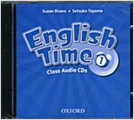 English Time: 1: Class Audio CDs  (X2) (CD-Audio, 2 Revised edition)
