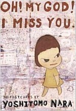 Oh! My God! I Miss You: 30 Postcards (Novelty)