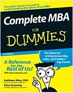 Complete MBA For Dummies (Paperback, 2 Rev ed)