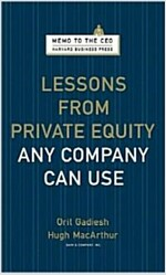 [중고] Lessons from Private Equity Any Company Can Use (Hardcover)