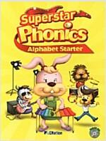 Superstar Phonics Alphabet Starter (Book + CD 1장)