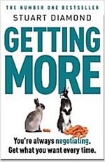 [중고] Getting More : How You Can Negotiate to Succeed in Work & Life (Paperback)