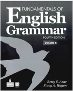 [중고] Fundamentals of English Grammar, Volume B (Paperback, 4, Revised)