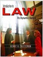 [중고] Introduction to Law: Its Dynamic Nature (Paperback)