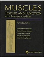 Muscles: Testing and Function, with Posture and Pain [With CDROM] (Hardcover, 5)