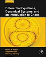Differential Equations, Dynamical Systems, and an Introduction to Chaos (Hardcover, 3)
