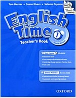 English Time: 1: Teacher's Book with Test Center and Online Practice (Package, 2 Revised edition)