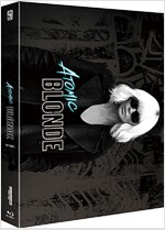 [4K 블루레이] 아토믹 블론드 : 풀슬립 스틸북 한정판 (2disc: 4K UHD + BD)