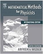 [중고] Mathematical Methods For Physicists International Student Ed (Paperback)