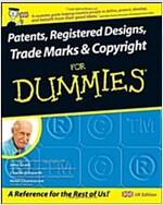 Patents, Registered Designs, Trade Marks and Copyright For Dummies (Paperback)