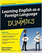 Learning English as a Foreign Language for Dummies+ CD (Paperback)