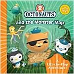 Octonauts Monster Map : A Lift-the-Flap Adventure (Paperback)