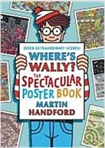 Where's Wally? : The Spectacular Poster Book (Paperback)