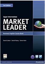 Market Leader 3rd Edition Upper Intermediate Coursebook & DVD-Rom Pack (Package, 3 ed)