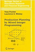 Production Planning by Mixed Integer Programming (Hardcover)