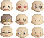넨도로이드모어 페이스 스왑 01&02 셀렉션 BOX (おもちゃ&ホビ-)