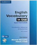 English Vocabulary in Use Upper-intermediate with Answers and CD-ROM (Package, 3 Revised edition)