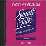 Small Talk: More Jazz Chants (R): Exercises Audio CD (CD-Audio)