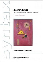 Syntax : A Generative Introduction (Paperback, 3rd Edition)