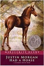 Justin Morgan Had a Horse (Paperback)