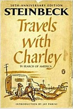 Travels with Charley in Search of America (Paperback, 50, Anniversary, Deckle Edge)