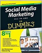 Social Media Marketing All-In-One for Dummies (Paperback, 2)
