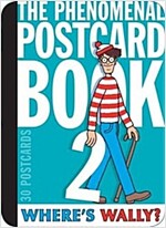 Where's Wally? The Phenomenal Postcard Book Two (Hardcover)