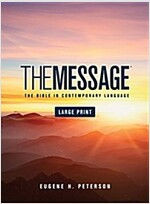 Message Bible-MS-Large Print Numbered (Hardcover)