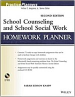School Counseling and School Social Work Homework Planner (Paperback, 2, Revised)