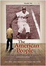 [중고] The American People (Paperback, 6th, Concise)