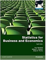 Statistics for Business and Economics: Global Edition (Paperback, 8 ed)