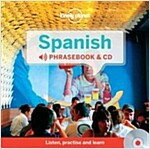 Lonely Planet Spanish Phrasebook and Audio CD (Hardcover)