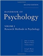 Handbook of Psychology : Research Methods in Psychology (Hardcover, 2 Rev ed)